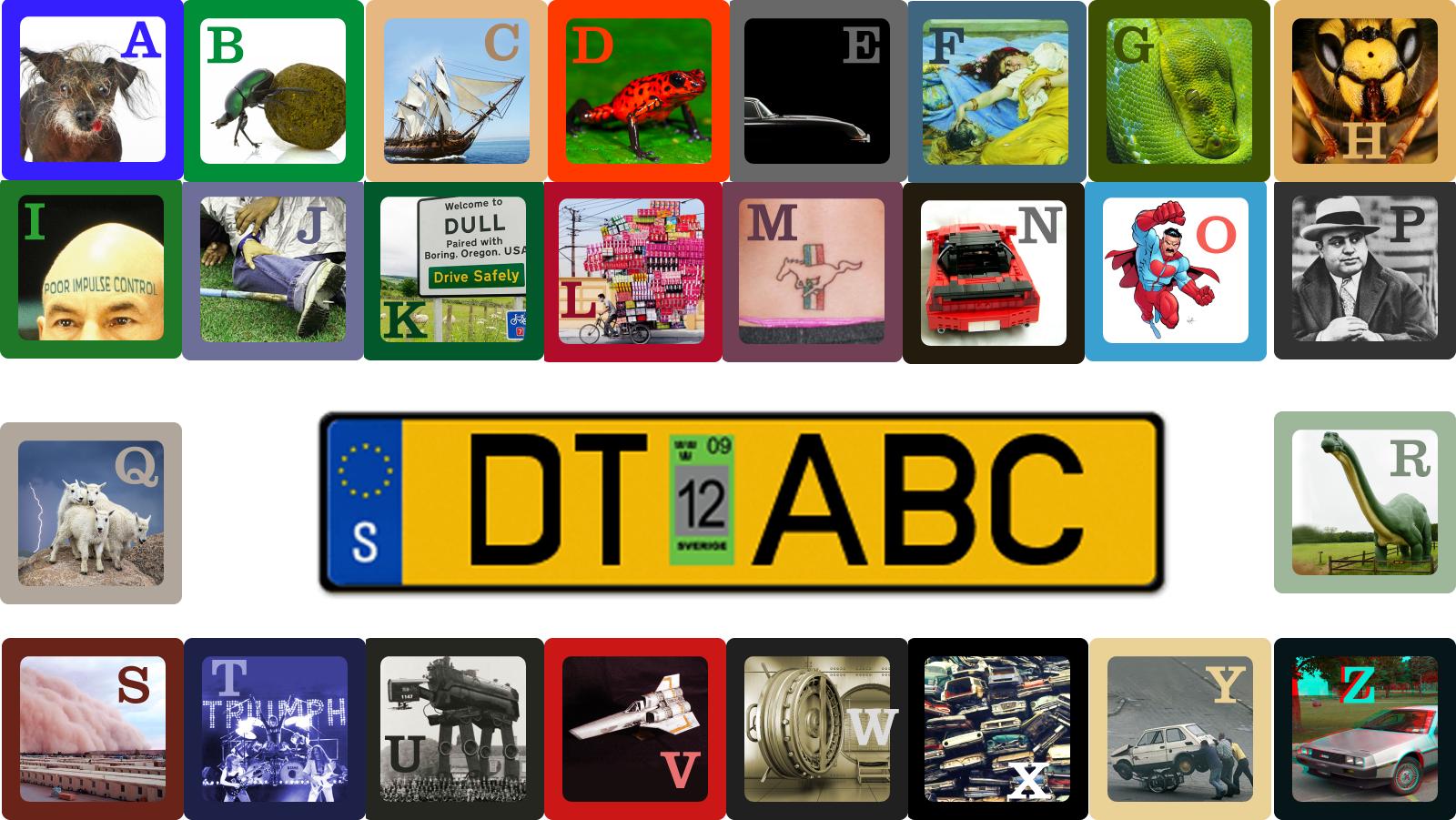 Happy 2nd Birthday: DT's ABCs