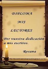 ¡Gracias Rosana!