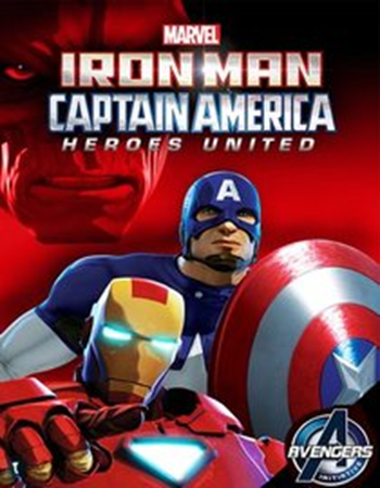 Iron Man and Captain America Heroes United 2014