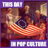 Congress chose the American National flag on June 14, 1777.