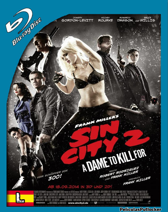 Sin City 2 [BrRip 720p][Latino][SD-MG-1F]