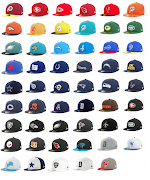 Below is a picture of all the hats. My favorite one is the Panthers one.