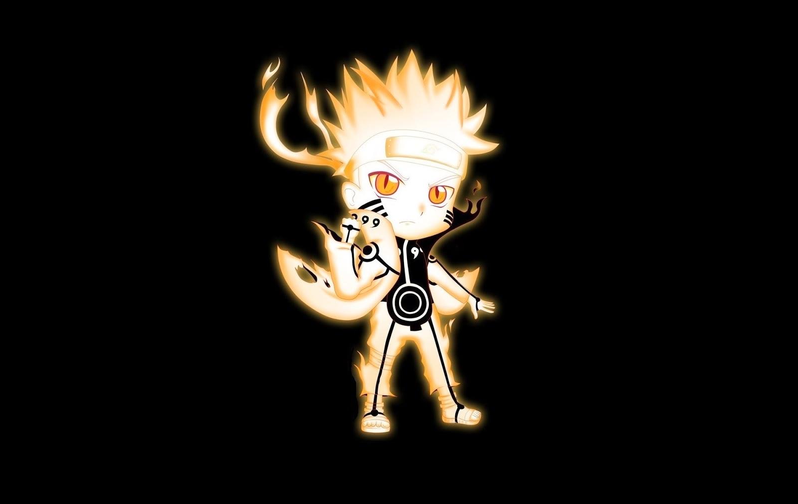 My Blogger: Uzumaki Naruto Chibi Bijuu Mode