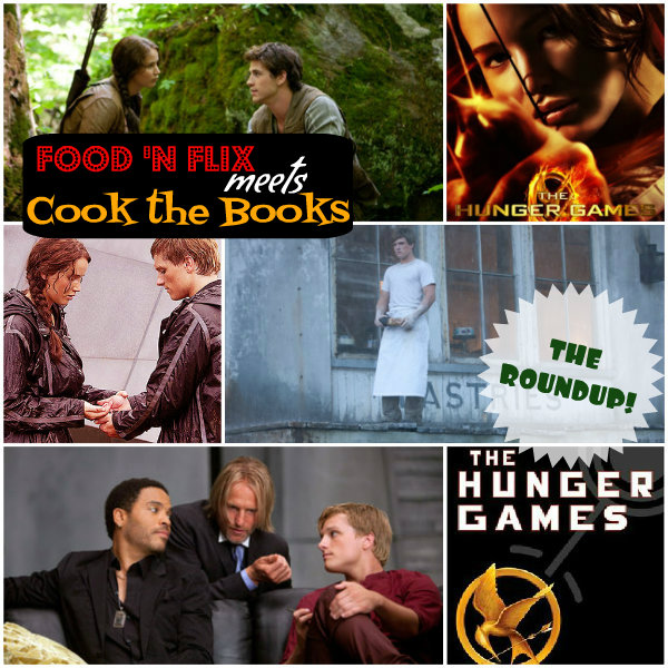 <i>roundup:</i> <b>The Hunger Games</b> {<b>food &#39;n flix</b> <i>meets</i> <b>cook the books</b>}