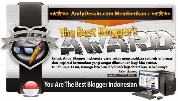 contoh gambar award