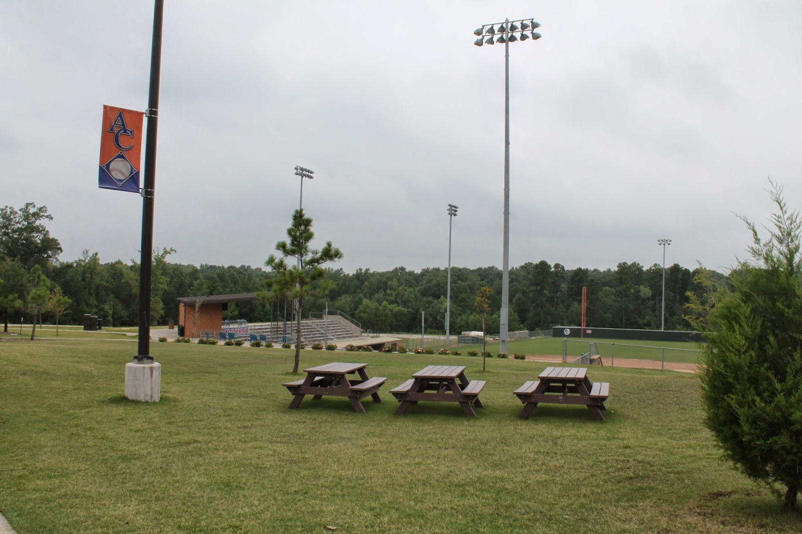 Small ballfields angelina college roadrunner baseball field for Build on your lot east texas