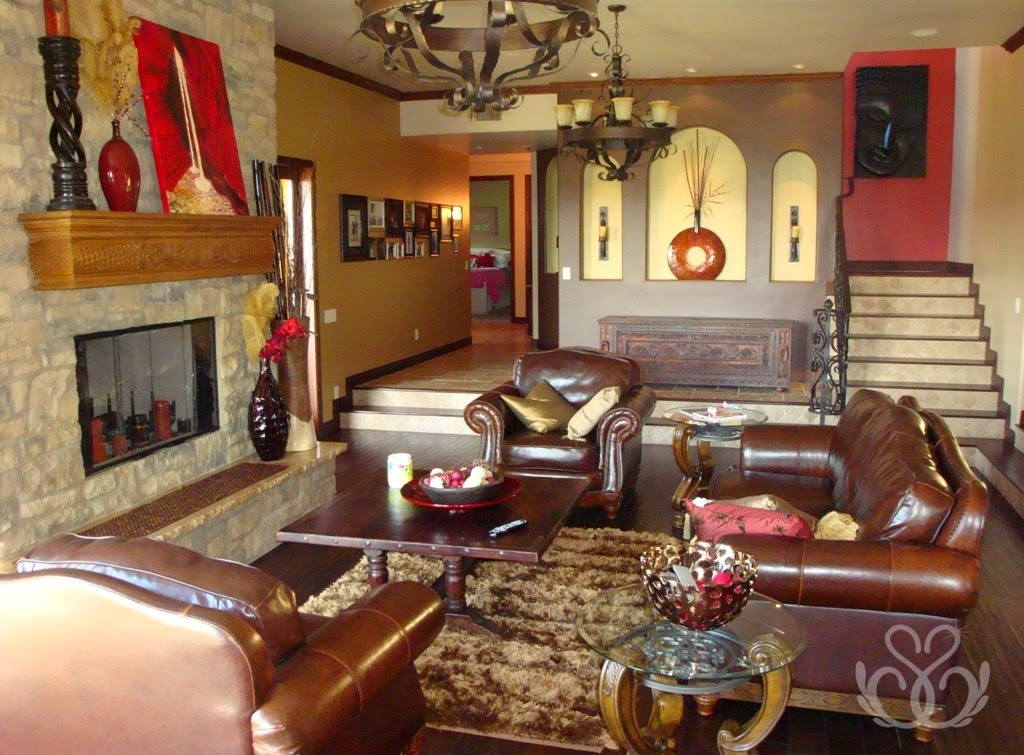 Rustic Living Room Arrangements Ideas
