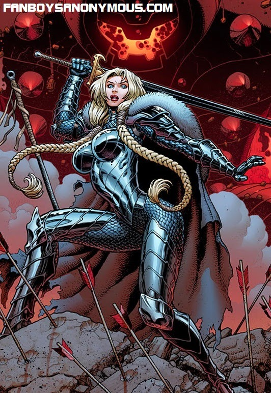 Valkyrie battles for humanity in Marvel's Fear Itself