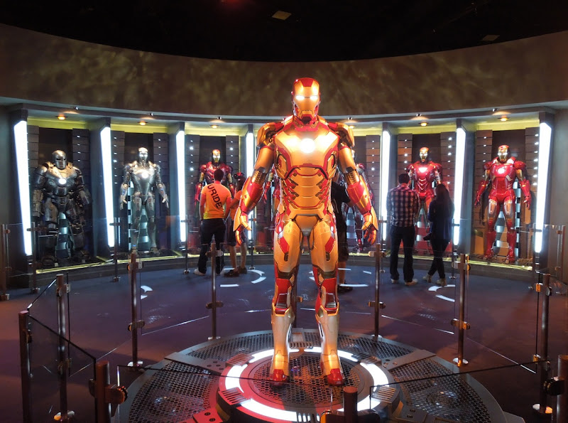 Iron Man 3 Hall of Armor Disneyland Innoventions