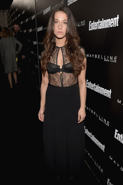 Actress, @ Stella Maeve - Entertainment Weekly's celebration honoring The Screen Actors Guild in LA