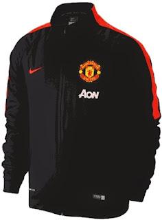 jersey mu home, jaket manchester united hitam, jaket mu chevrolet 2014/2015 grade ori, harga murah