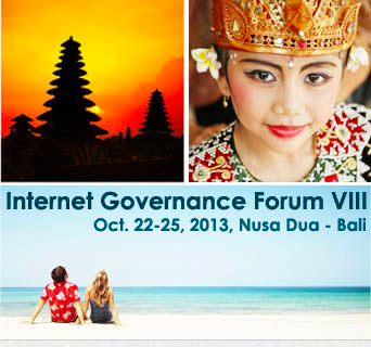 Blog Partner Internet Governance Forum, IGF 2013 Bali