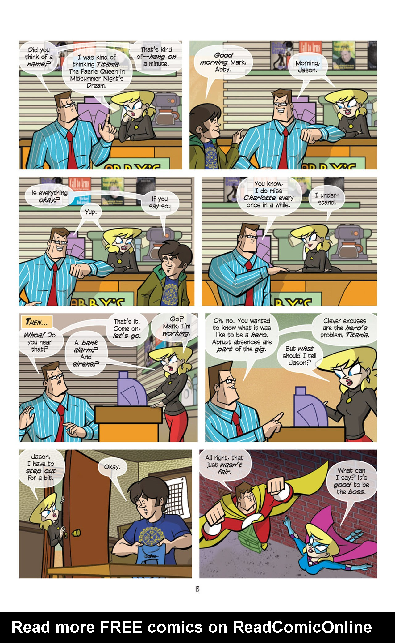 Read online Love and Capes comic -  Issue #10 - 15