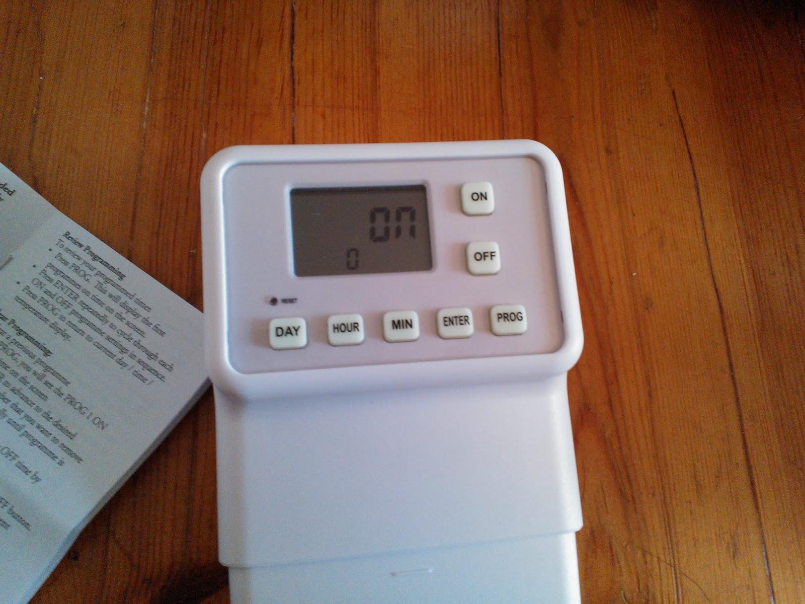 Easy to install digital light switch timer AdamokNet