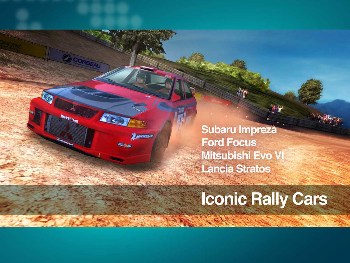 Racing Game Colin McRae Rally 2014 Android Download,