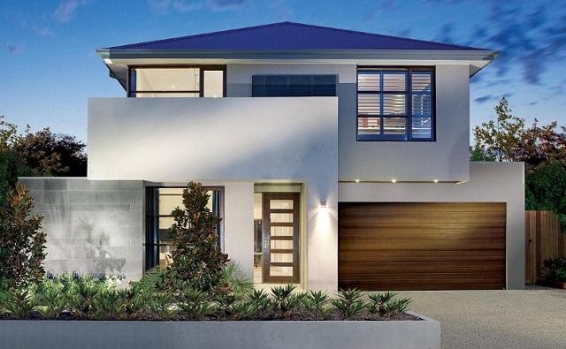 Fachadas de casas modernas orientales fachadas de casas for Casas modernas terreras