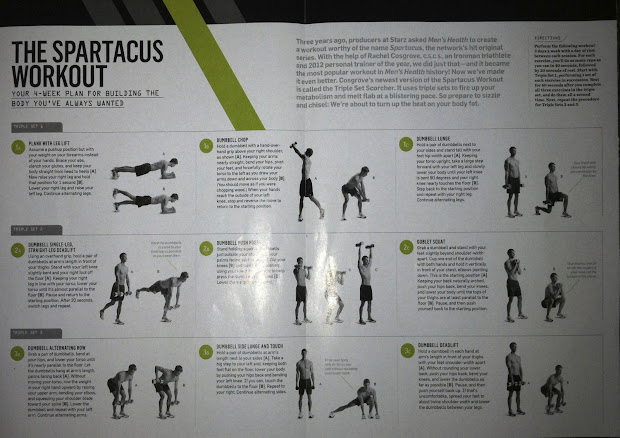 picture about Spartacus Workout Printable referred to as Spartacus Work out For Gals Achievements - Yr of New Drinking water