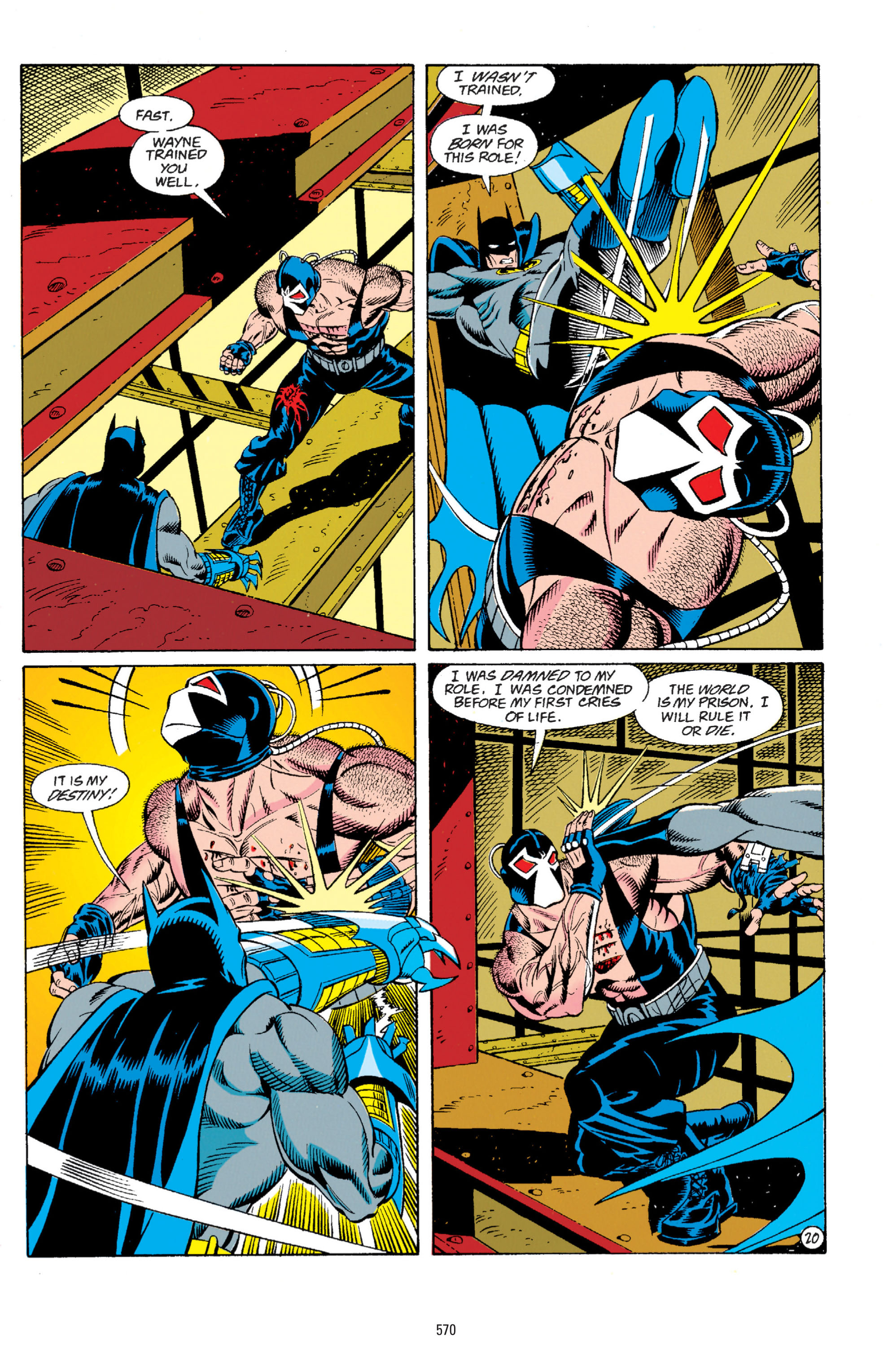 Detective Comics (1937) Issue #666 Page 21