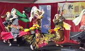 Students performing @ Buddha Birthday Festival