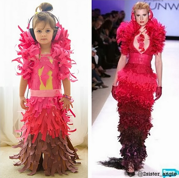 Jay McCarroll's dress from Project Runway