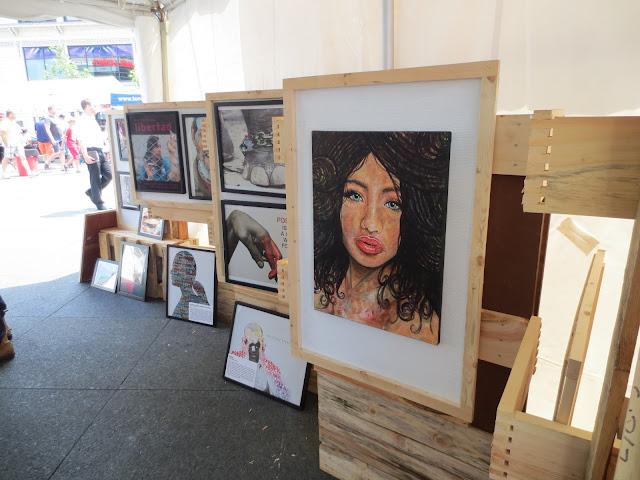 YD Toronto, youth day toronto, artist, yd toronto art gallery, portrait artist, portrait, beautiful ambiguity, malinda prudhomme