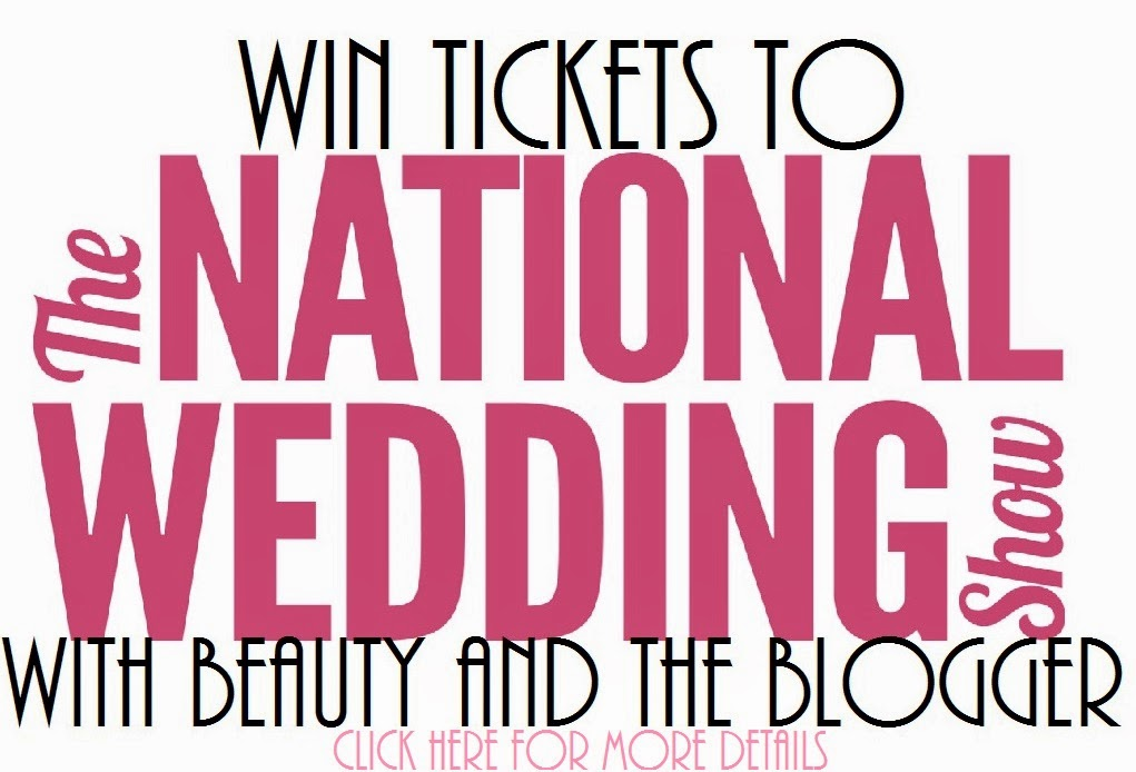 Win tickets to the National Wedding Show 2014