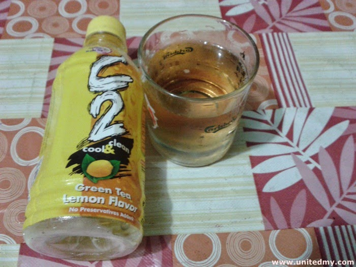 C2 Green Tea with Lemon