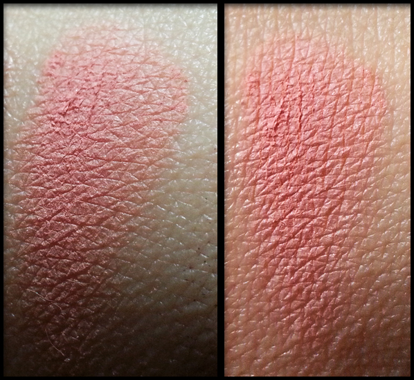 Neve Cosmetics - Blush Minerale - Delhi swatch