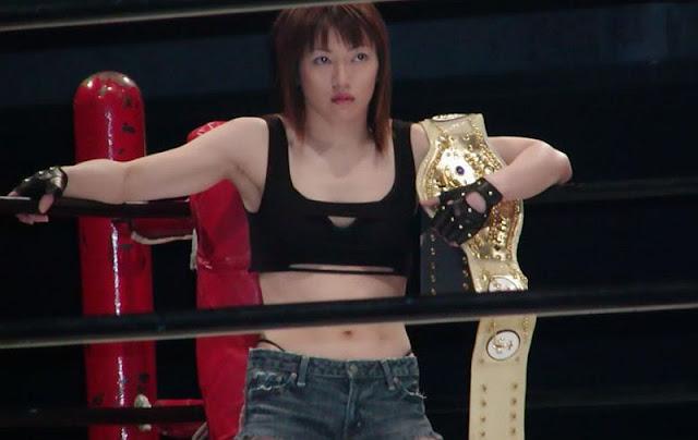 Azumi Hyuga - Japanese Women Wrestling