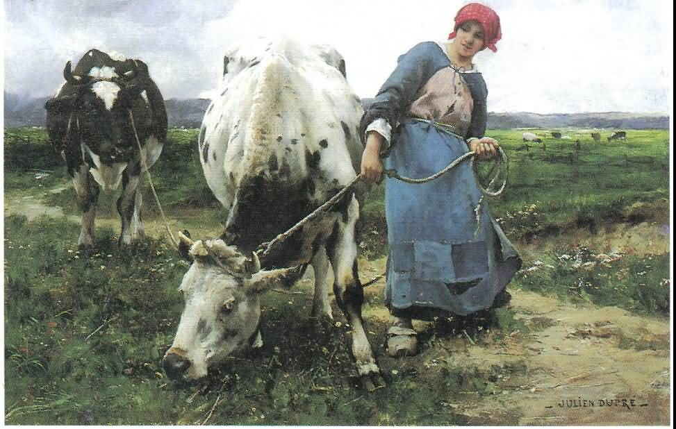 Agrarian Nation: The Milch Cow—1825, 1842, 1843, 1849—
