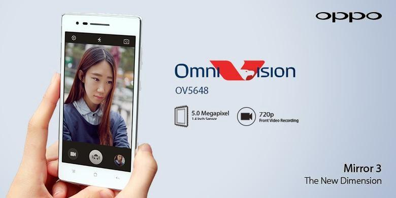 Oppo Pakai Sensor Kamera Omnivision