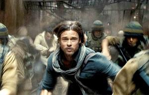 Brad Pitt en Guerra Mundial Z