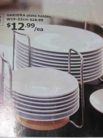 Robbiebago adventures a shopping we will go for Ikea plate storage