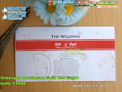 Undangan Pernikahan Galih Dan Gagah