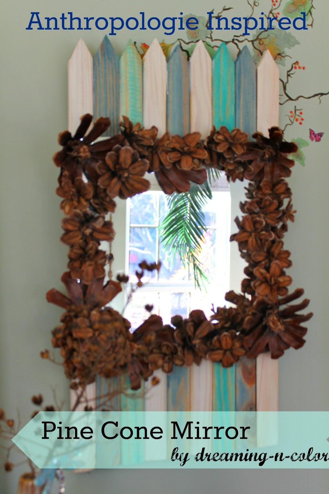 Dreamingincolor Interior Decoration Anthropologie Inspired Mirror