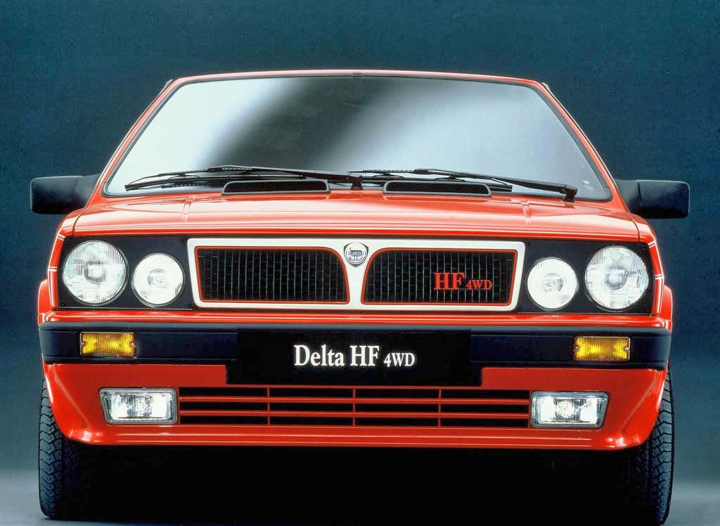 Delta HF integrale 4WD 1986