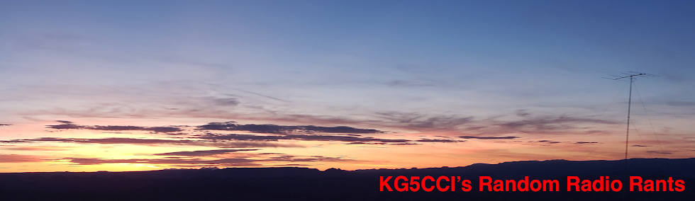 KG5CCI's Radio Page
