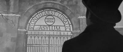 We're Sick - Silverstone Lunatic Asylum Gates Stonehearst-asylum
