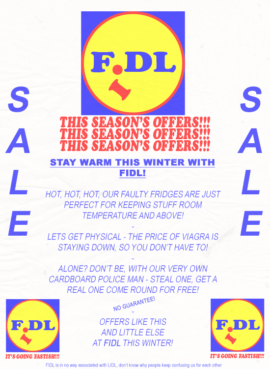 'FIDL - WINTER' posted by Major Gubbins