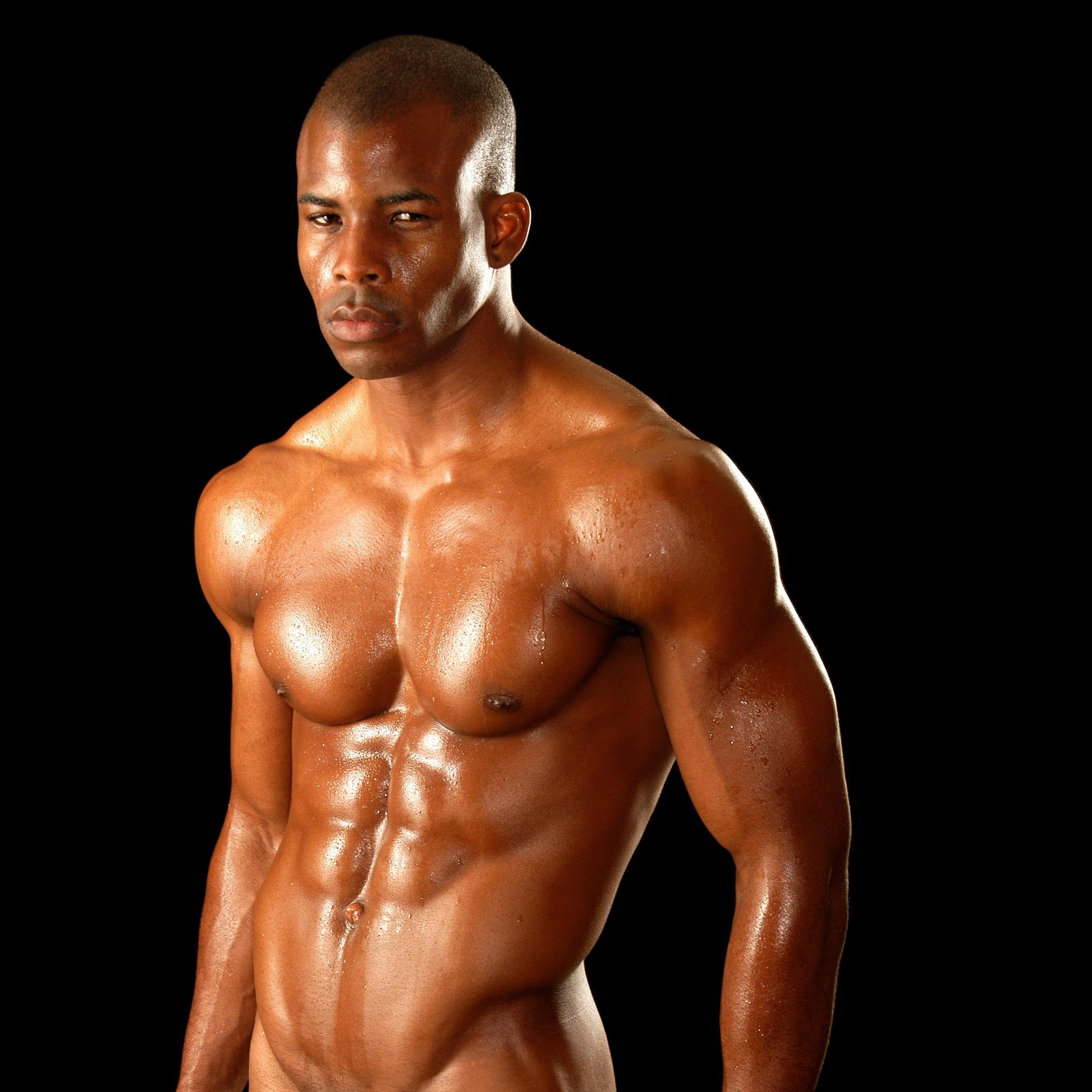 ... sexiest pictures of the most downloaded black male model, Ngo Okafor