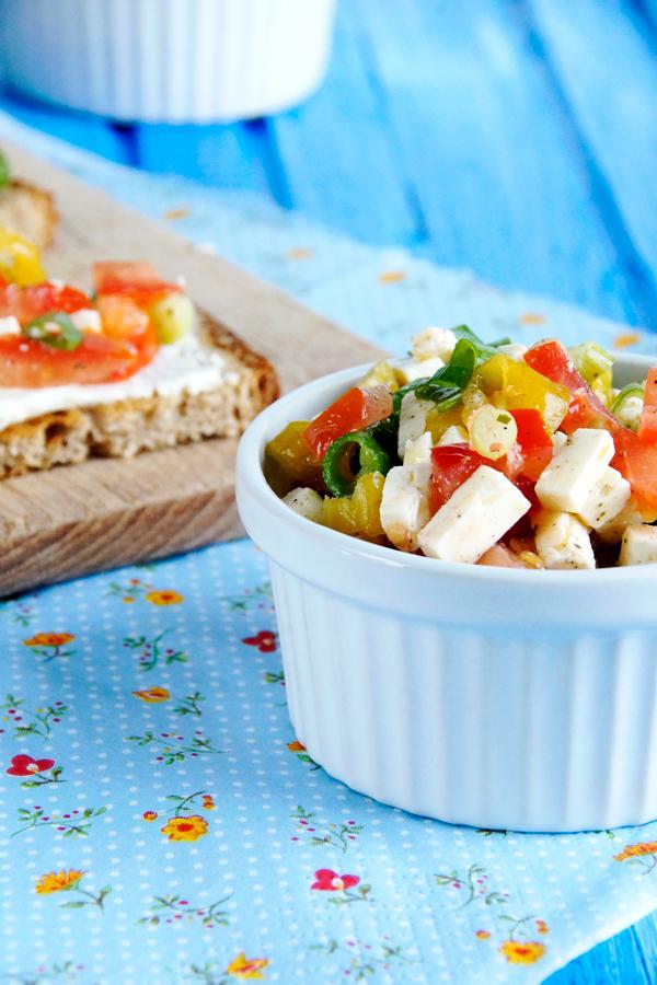 Vorspeise, Salat, Picknicken