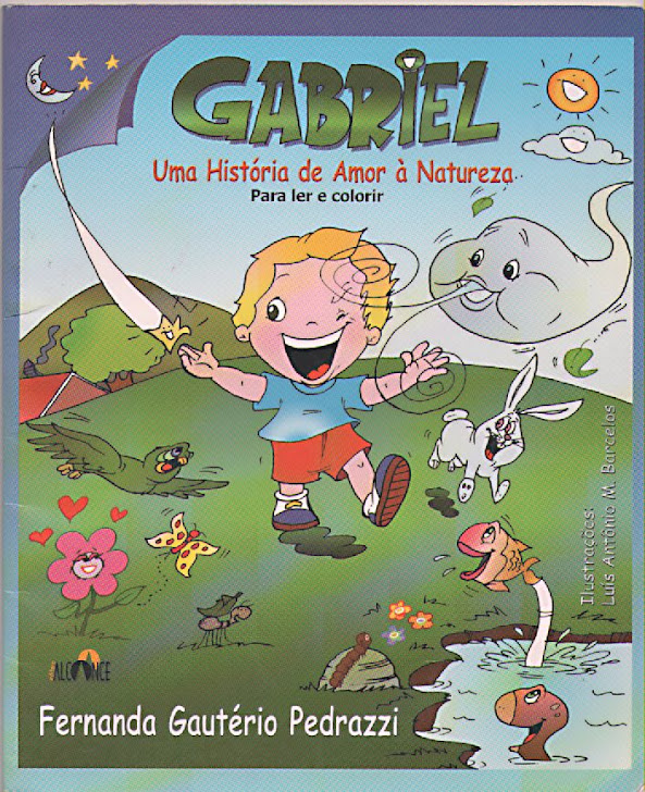 EU INDICO: LIVRO INFANTIL 'GABRIEL'