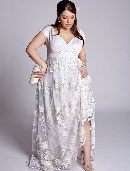 Wedding dresses for bride fat