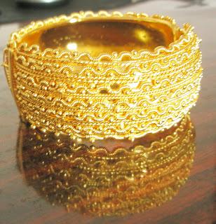 Chunky Gold Cuff