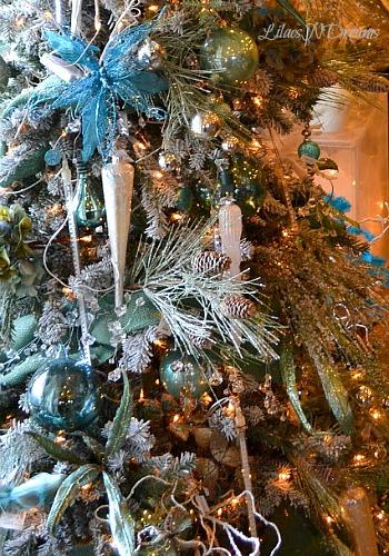 Purple Christmas Tree Topper
