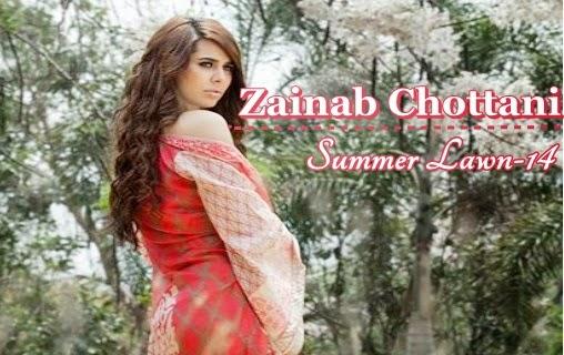 Zainab Chottani Lawn 2014