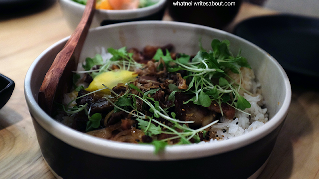 Neil Writes About Ooma Japanese Rice Bar Gyudon