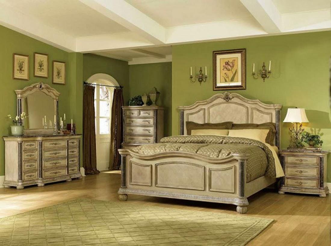 Bedroom glamor ideas green vintage bedroom glamor ideas for Antique bedroom ideas