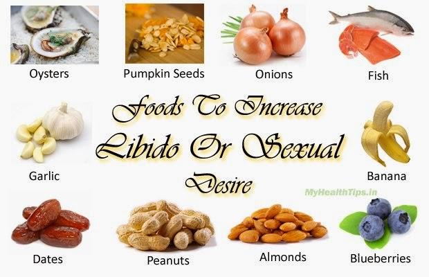 foods that increase libido in men naturally
