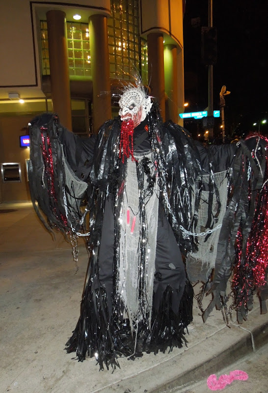 West Hollywood Halloween Carnaval demon